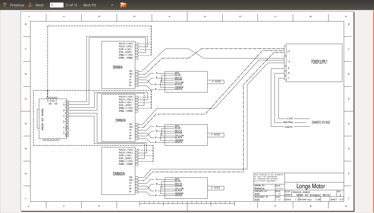 motor wiring linux with diy cnc router longs stepper motor wiring diagram at bakdesigns.co