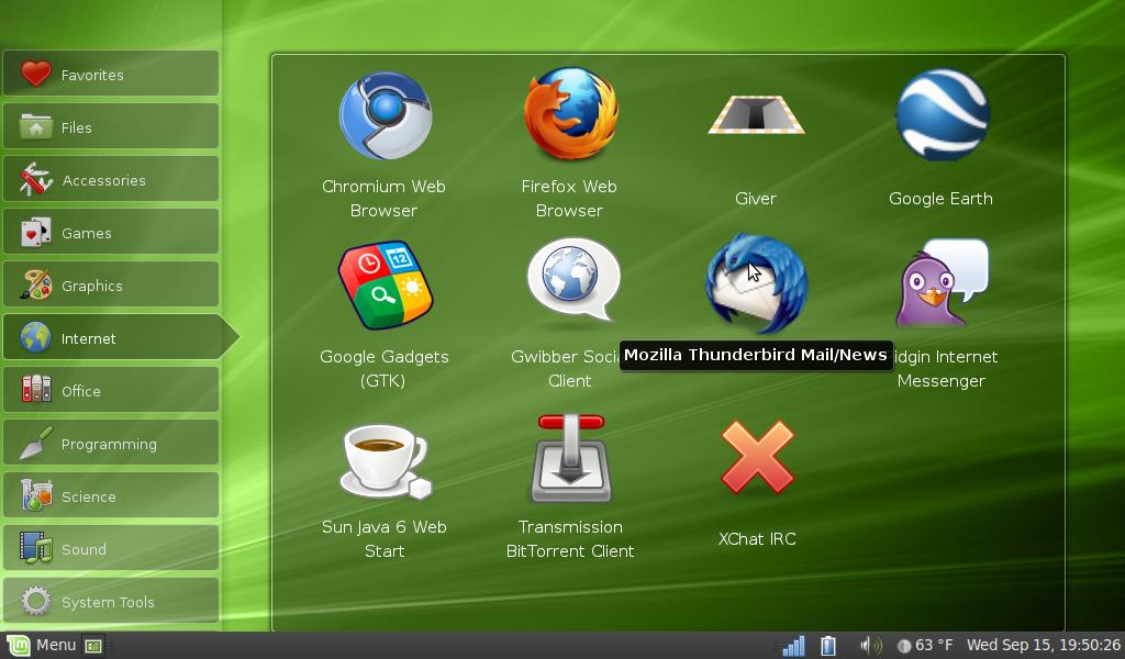 Linux mint netbook