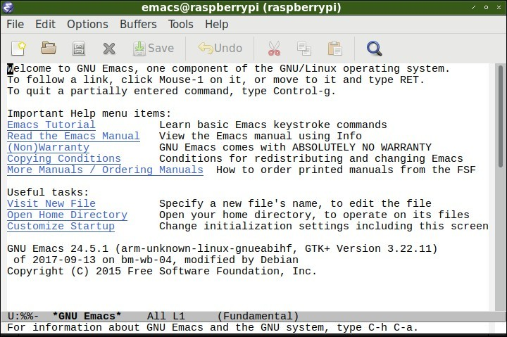 Setup and Maintenance of Linux on the Raspberry Pi part 2